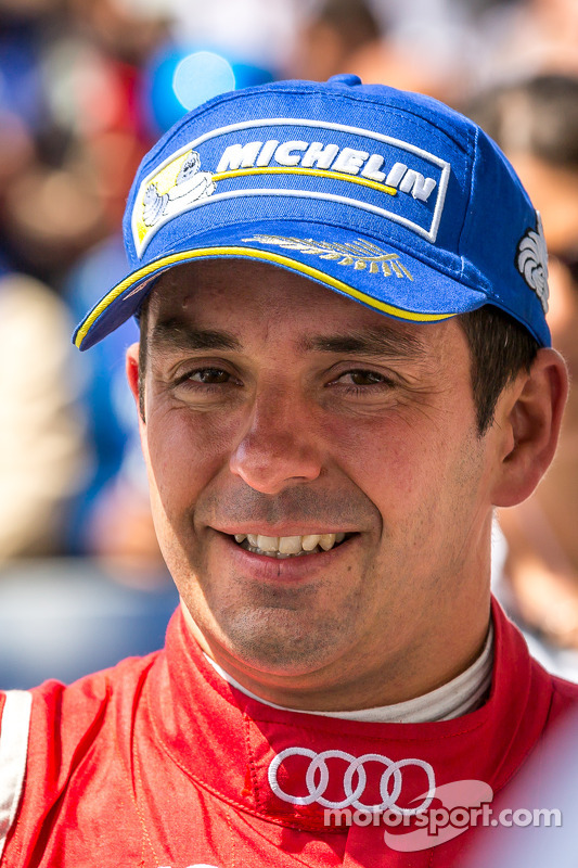 Race winner Benoit Tréluyer