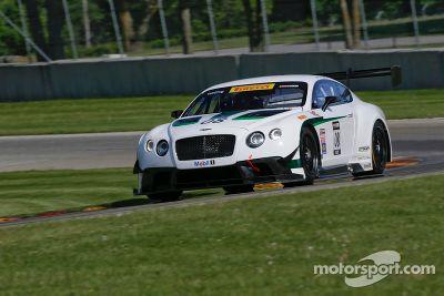 Teste da Dyson Racing Bentley