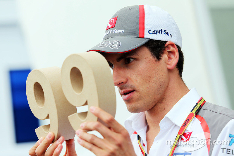 Adrian Sutil, Sauber with his 99 race number
