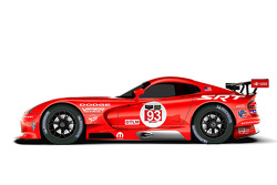 SRT Dodge Viper retro düzeni