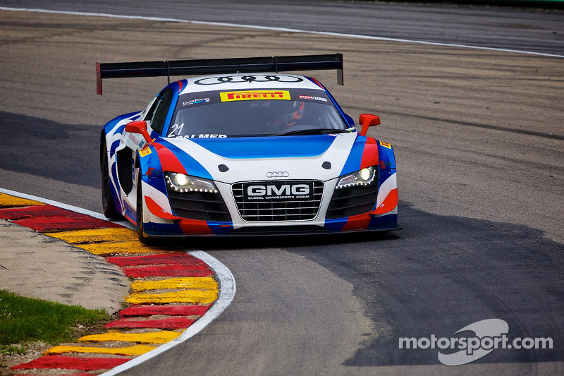 #21 Global Motorsports Group Audi R8: Andrew Palmer