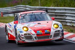 #6 Frikadelli Racing Team Porsche 997 GT3 R: Klaus Abbelen, Sabine Schmitz, Patrick Huisman, Patrick Pilet