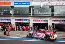 #80 日产 GT学院车队 RJN 日产 GT-R Nismo GT3: 尼克·海菲尔德, 阿历克斯·本库姆, 卢卡斯·奥多涅斯, 弗洛里安·斯特劳斯