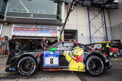 #8 Haribo Racing 保时捷 997 GT3 R: 诺伯特·西德勒, 约格·伯格麦斯特, 迈克·斯特斯伯格, 汉斯·吉多·里格尔