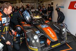 Problemi per la # 35 OAK Racing Ligier - Nissan: Alex Brundle, Jann Mardenborough, Mark Shulzhitskiy