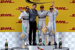 Podium: 1. Nico Rosberg, Mercedes AMG F1; 2. Lewis Hamilton, Mercedes AMG F1; 3. Valtteri Bottas, Williams