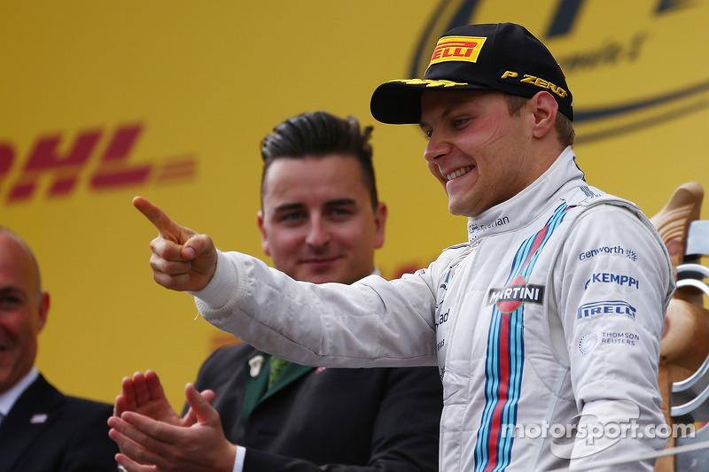 3rd place for Valtteri Bottas, Williams FW36