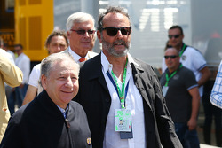 Jean Reno, Actor with Jean Todt, FIA President