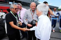 Bernie Ecclestone con Ron Dennis, McLaren Executive Chairman