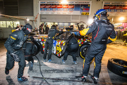Pitstop: #28 Walkenhorst Motorsport BMW Z4 GT3: Ferdinand Stuck, Maximilian Sandritter, Christopher Brück, Dennis Rostek