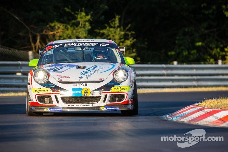 #40 Manthey-Racing Porsche 911 GT3 Cup: Steve Smith, Reimer Nils, Reinhold Renger, Harald Proczyk