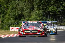 #31 Car Collection Motorsport 梅赛德斯-奔驰 SLS AMG GT3: Peter Schmidt, Christian Bracke, Heinz Schmersal, Horst Felbermayr Jr.
