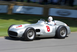 Mercedes Benz W196 - Sir Stirling Moss