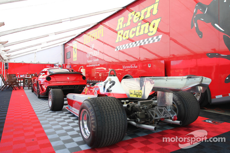 Classic Ferrari F1 - ex Gilles Villeneuve