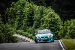 #76 BMW Z4 M: Heiko Hedemann, Kevin Warum, Guido Schuchert, Dirk Vleugels