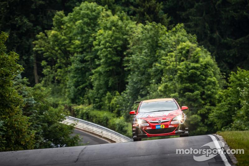 #253 Opel Astra OPC: Max Hackländer, Christian Gebhardt