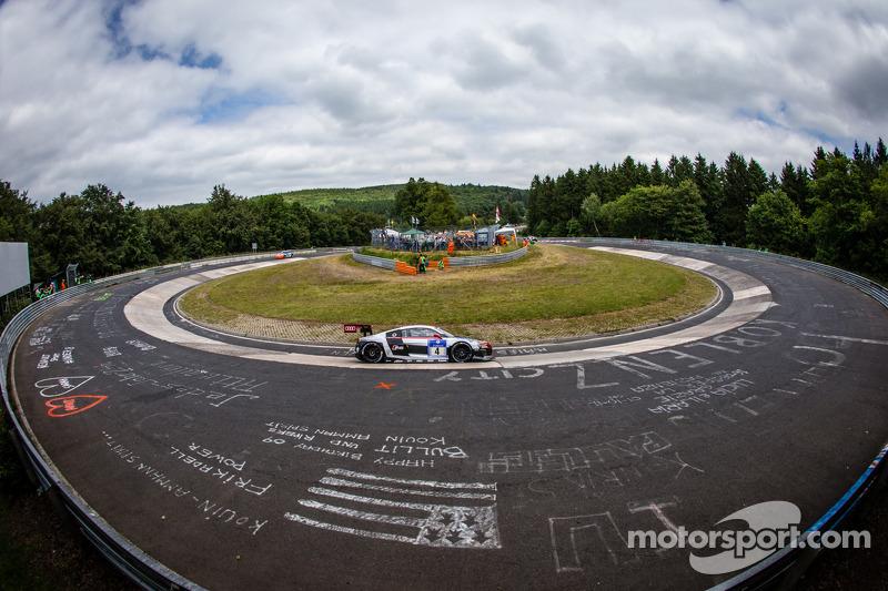 #4 Phoenix Racing 奥迪 R8 LMS ultra: 克里斯托弗·哈斯, 克里斯蒂安·马梅罗, 雷内·拉斯特, 马库斯·温克霍克