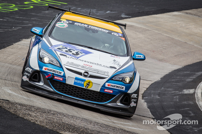 #255 Bliss Autosport Opel Astra OPC Cup: Lars Holtkamp, Olaf Schley, Oliver Bliss, Axel Duffner