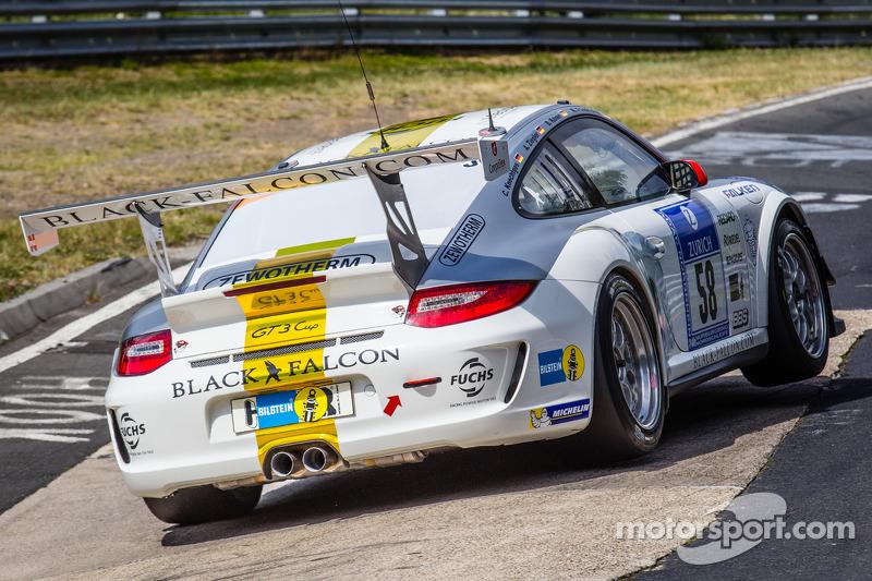 #58 Black Falcon 保时捷 911 GT3 Cup: 安德利亚斯·齐格勒