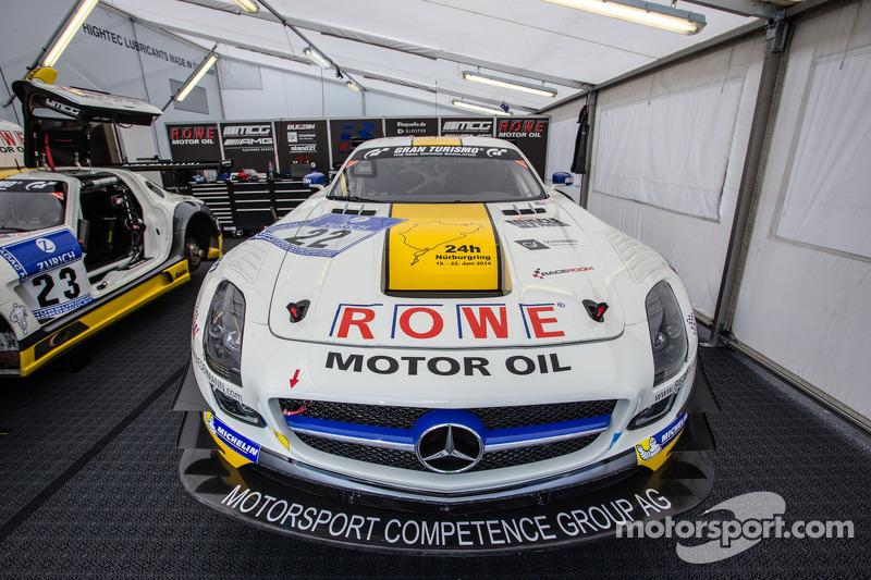 #22 Rowe Racing 梅赛德斯-奔驰 SLS AMG GT3