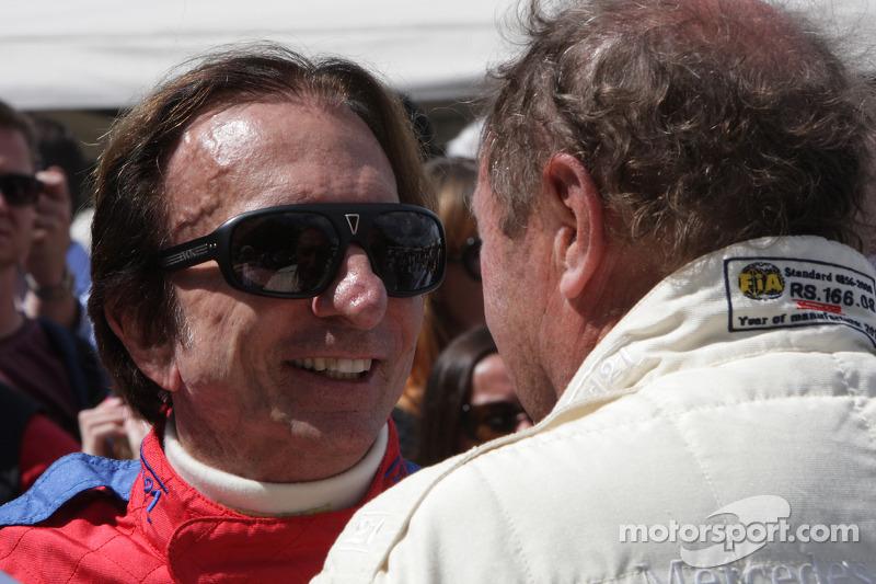 Emerson Fittipaldi and Jochen Mass