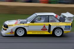 Hannu Mikkola im Audi Quattro S1 E2 von 1985