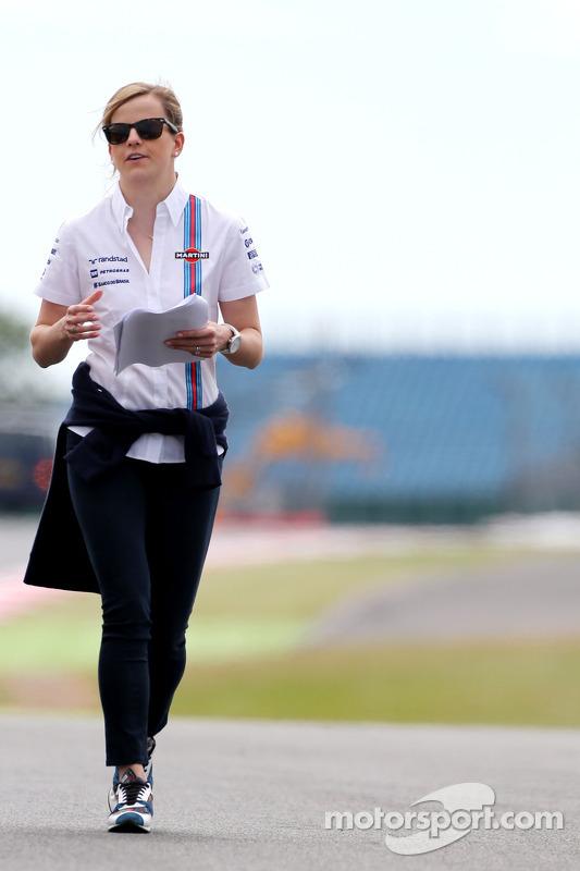 Susie Wolff, Entwicklungsfahrerin, Williams