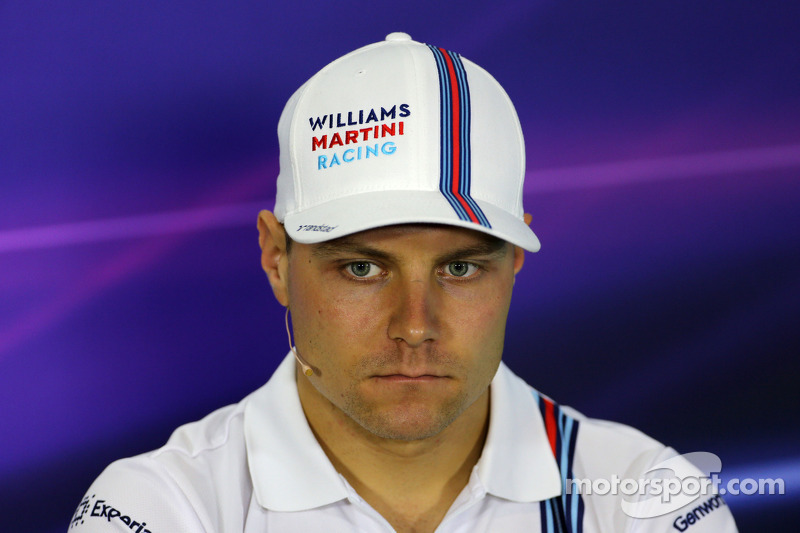 Valtteri Bottas, Williams F1 Team durante la conferenza stampa