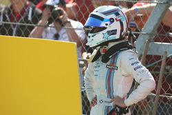 苏茜·沃尔夫,威廉姆斯研发车手,第一次自由练习时停在赛道上