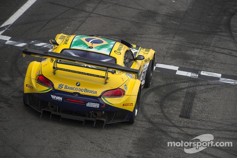 #30 BMW Sports Trophy Team Brasil BMW Z4: Matheus Stumpf, Nelson Piquet Jr.