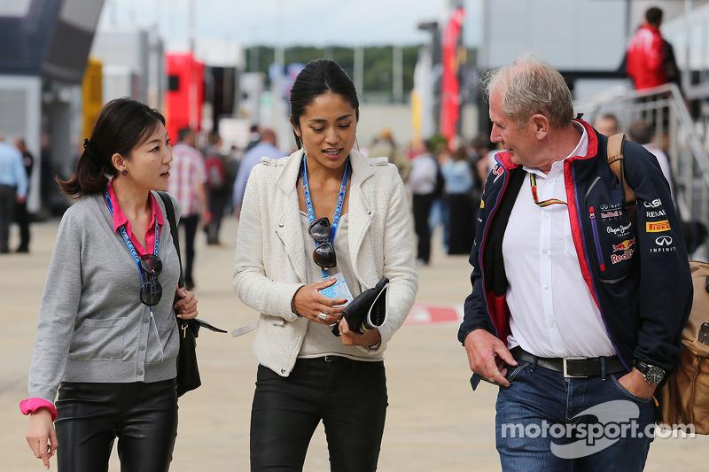 Dr. Vijay Malya Helmut Marko, Red Bull Motorsporları Danışmanı