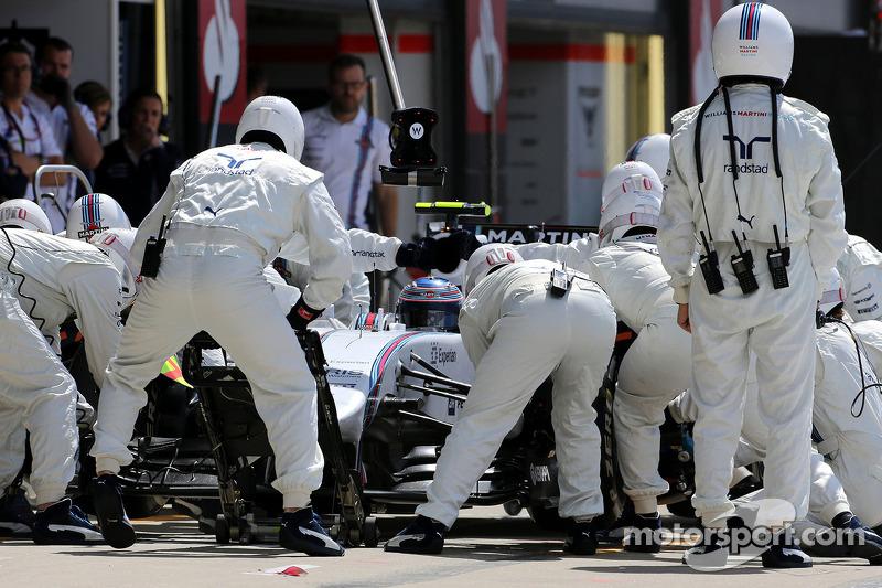 Boxenstopp: Valtteri Bottas, Williams F1 Team