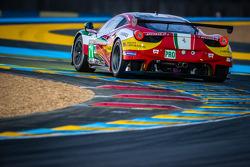 #71 AF Corse Ferrari 458 Italia: Davide Rigon, Pierre Kaffer, Olivier Beretta