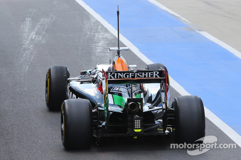 Daniel Juncadella, Sahara Force India F1 VJM07 Test ve Yedek Pilotu