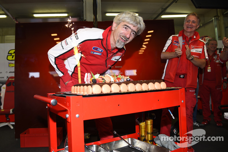 Gigi Dall  'Igna, Ducati Corse general manager festeggia il suo compleanno