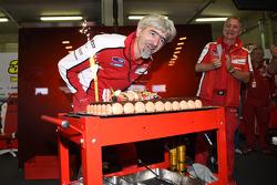 Gigi Dall'Igna, director general de Ducati Corse celebra su cumpleaños