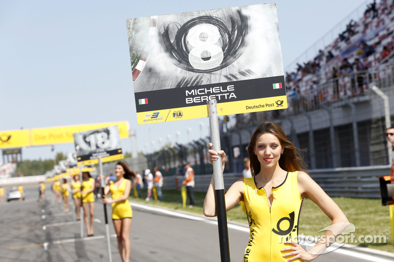 Grid kızı: Michele Beretta