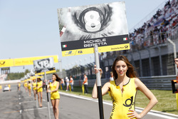Gridgirl of Michele Beretta
