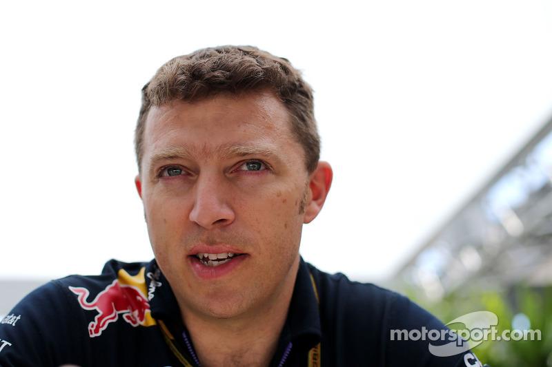 Joe Robinson, ingegnere Red Bull Racing