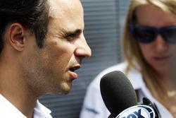 Felipe Massa, Williams ve medya