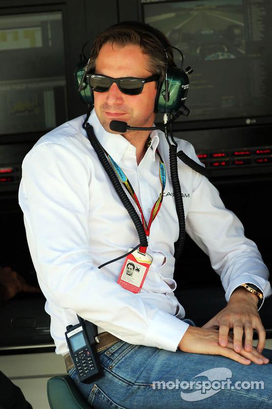 Christian Albers, chefe de equipe da Caterham F1 Team