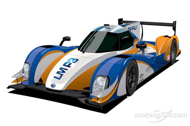 An artist rendering of the LM P3 class car