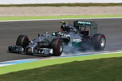 Verbremser: Nico Rosberg, Mercedes AMG F1 W05