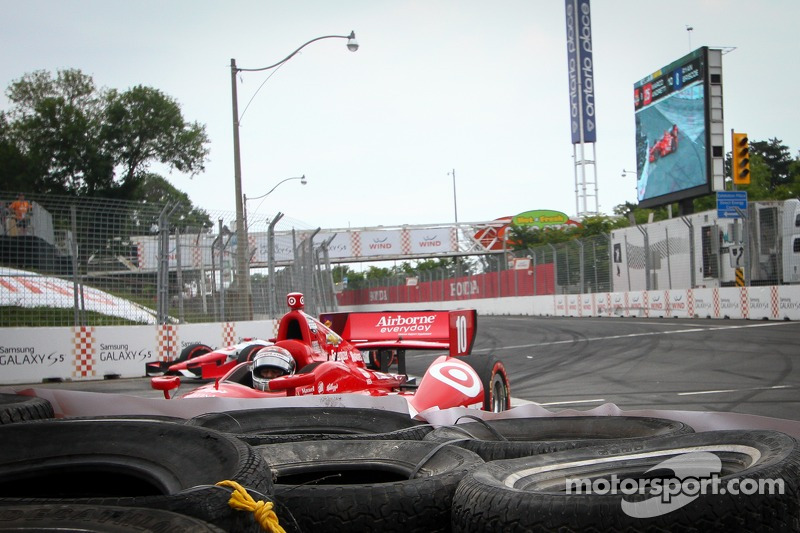 Tony Kanaan, Chip Ganassi Racing Chevrolet, incidente