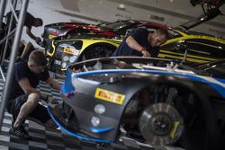 Aston Martin garage