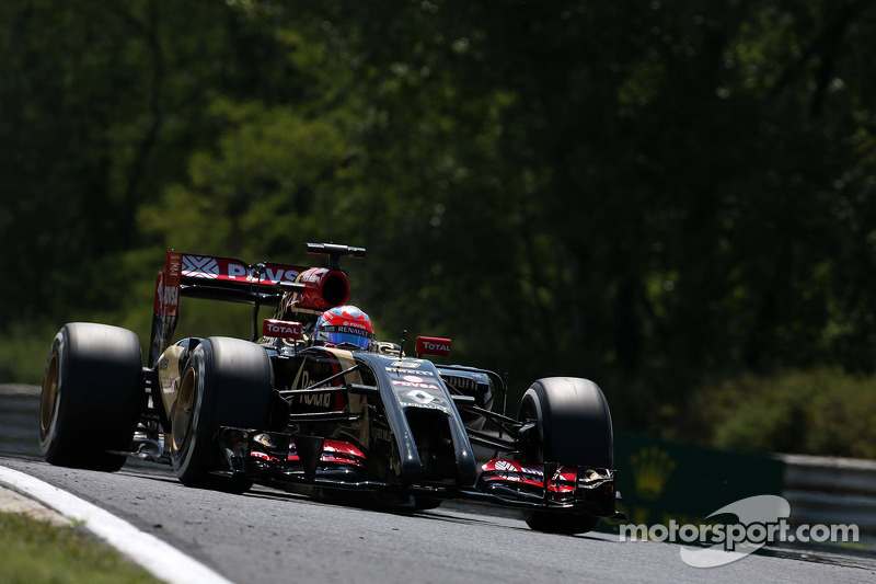 Romain Grosjean , Lotus F1 Team