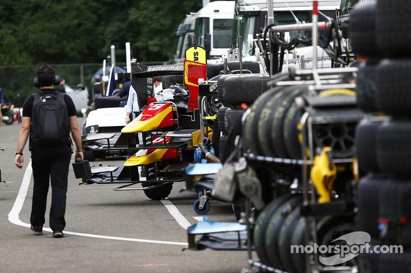 I carrelli di pneumatici GP2