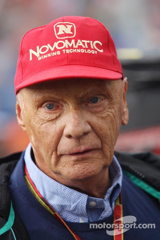 Niki Lauda, Mercedes