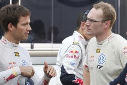 Sébastien Ogier and Jari-Matti Latvala