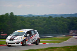 #12 Drive4Diabetes/Garrett Racing Honda Fit: Johan Schwartz